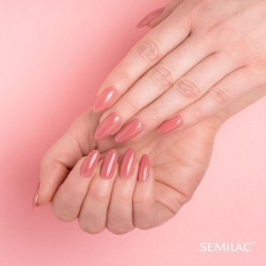 818 Semilac Extend 5in1 Brown Pink 7ml